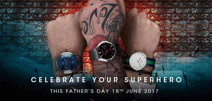 Father's Day 2017: Celebrate your superhero this June 18th!