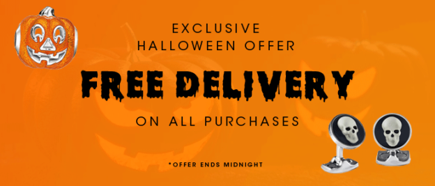 Exclusive Halloween Offer: Free delivery on all orders