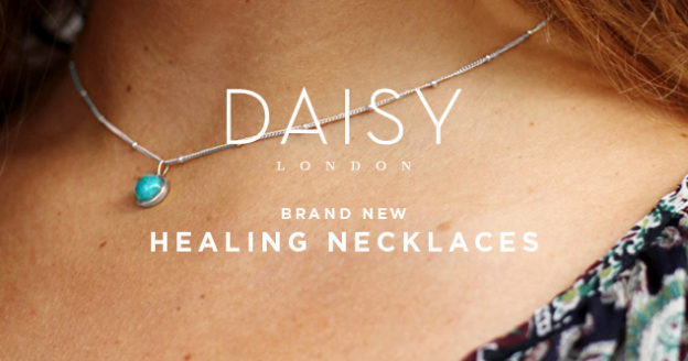 Daisy London New Arrivals: Healing Necklaces in Silver