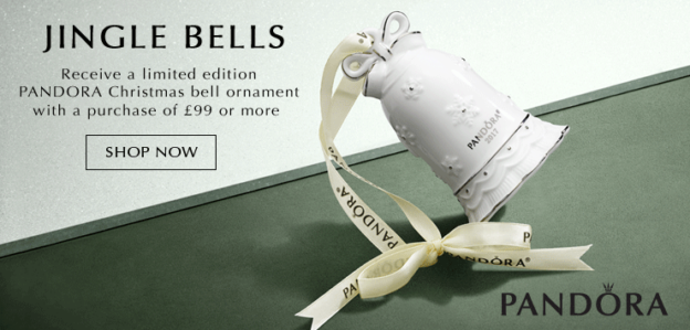 Winter Offer: FREE PANDORA Bell Ornament