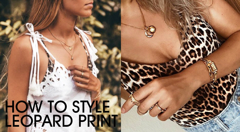 How To Accessorise Leopard Print - Top Tips