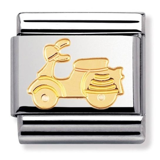Nomination daily life Vespa scooter charm