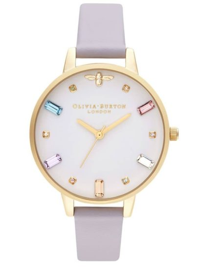 Mood boosting jewellery for february style blog for Violet leather strap watch