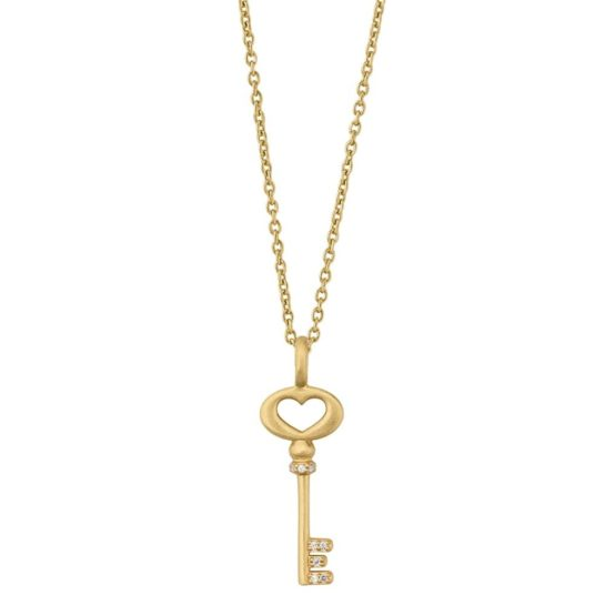 byBiehl Gold Plated Unlock Love Necklace