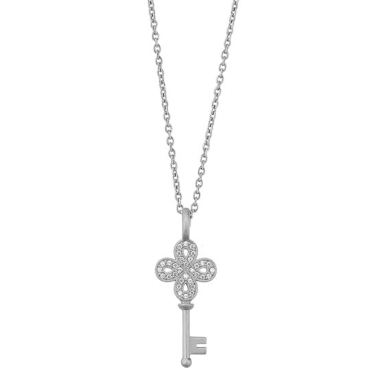 byBiehl Sterling Silver Unlock Happiness Necklace