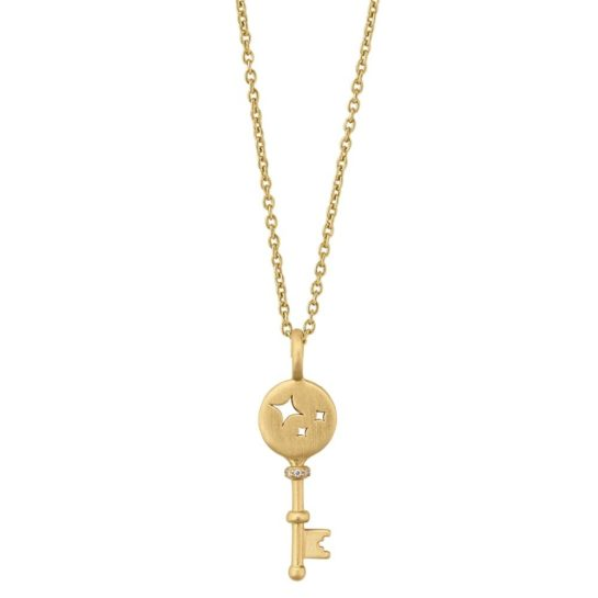 byBiehl Gold Plated Unlock Miracels Necklace