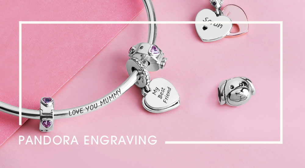 Top 12 Pandora Jewellery Engraving Ideas