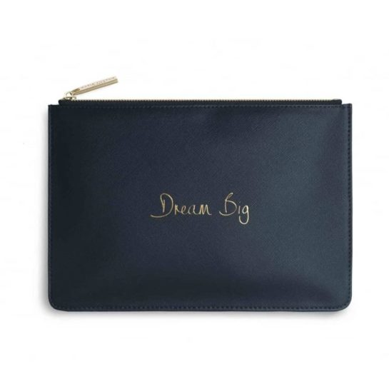 Katie Loxton Dream Big Navy Perfect Pouch