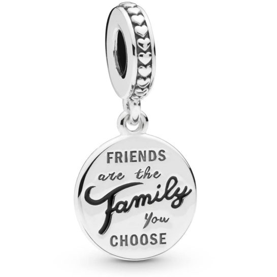 Pandora Friends Are Family Pendant Charm
