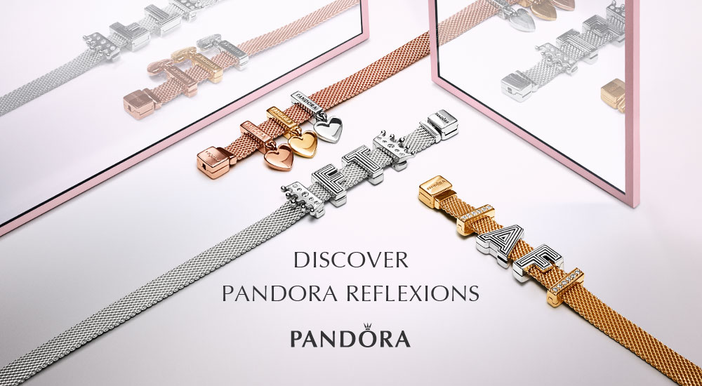 NEW Pandora Reflexions Alphabet Charms