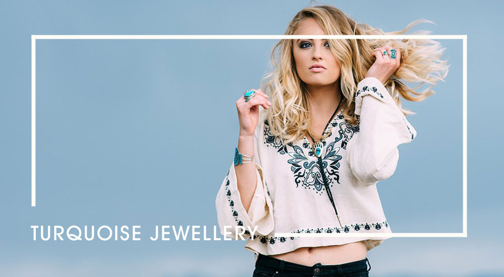 Turquoise Jewellery Looks Cool For The Summer