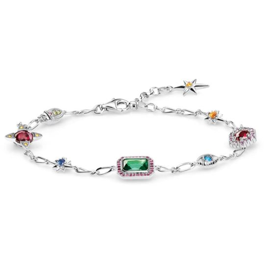 Thomas Sabo Sterling Silver Lucky Charms Bracelet