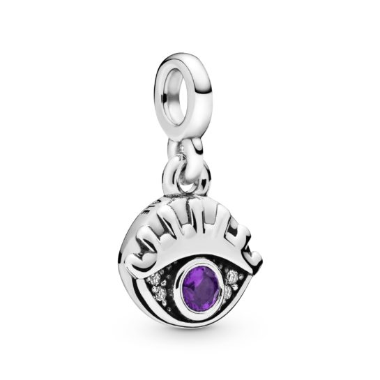 Pandora Me My Eye micro dangle charm.